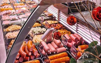 Smullen van verse slagersmaaltijden