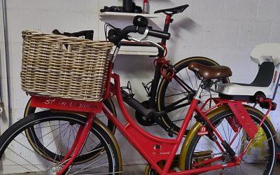 De fiets op stal